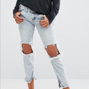 One Teaspoon Blue Malt Freebird Jeans- Size 28